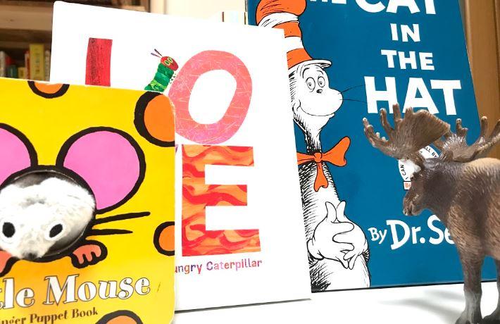 1歳児2歳児の英語教育の絵本